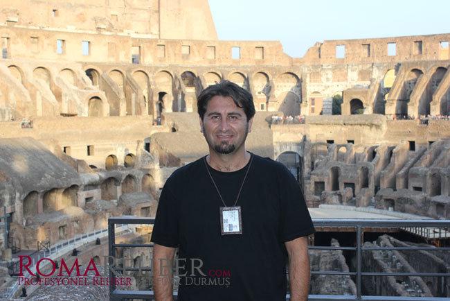 Roma'da türk rehber