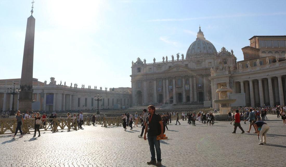 Aziz Petrus Meydanı Roma