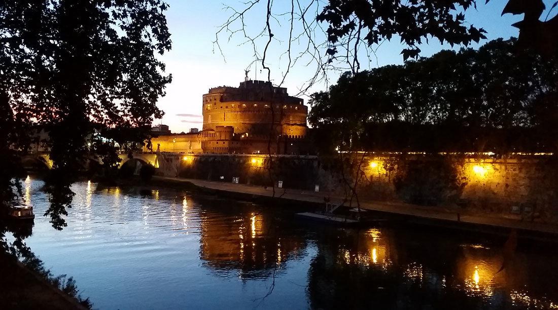 Tiber Nehri & Kutsal Melek Kalesi Roma