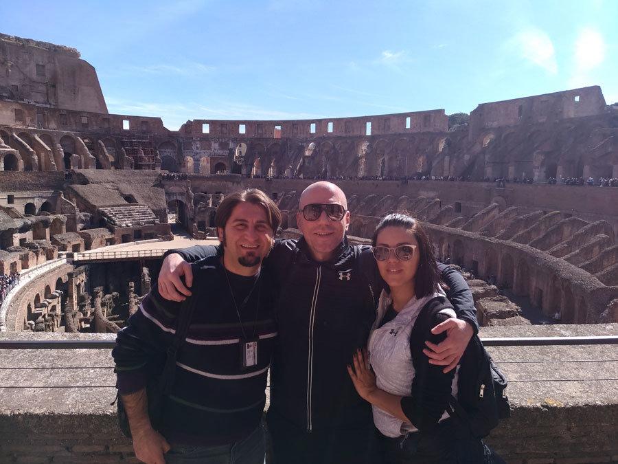 Roma'da evlilik teklifi