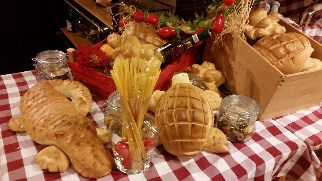 Roma'da yeme içme ekmek