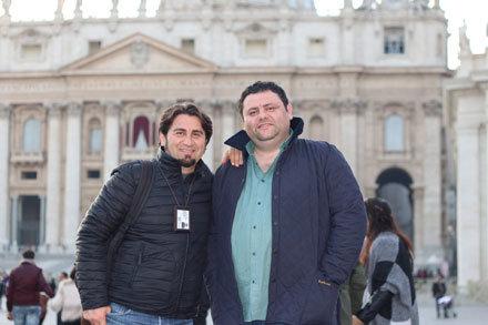 Vatikan Müzesi çıkış