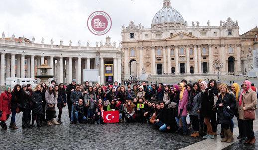 Vatikan Aziz Petrus meydanı