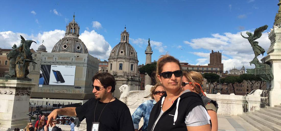 Vittorio Emanuele II Abidesi & Piazza Venezia - Roma
